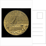 Medal commemorating the French Ministry of the Marine Regattas, Havre, 1910; reverse by D. Dupuis