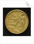 Medal commemorating the centenary of the Argentine Navy, 1910; reverse by C. Rossi
