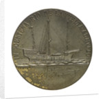 Medal commemorating the 400th anniversary of the discoverer Juan Sebastian del Cano, 1922; reverse by unknown