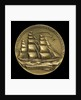Medal commemorating the centenary of the voyage of the 'Flying Cloud', 1951; obverse by M.K. and Holland