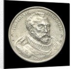 Medal commemorating the Henry Hudson tercentenary, 1909; obverse by J.E. Roin