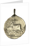 Medal commemorating the landing at Homs, 1911; obverse by Stefano Johnson