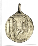 Medal commemorating the landing at Homs, 1911; reverse by Stefano Johnson