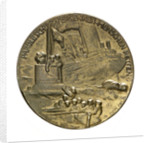 Medal commemorating Grossadmiral Alfred von Tirpitz (1849-1930); reverse by P. Sturm