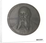Medal commemorating Grossadmiral Alfred von Tirpitz (1849-1930); obverse by P. Sturm