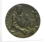 Medal commemorating the American note on U-boat warfare, 1916; obverse by Karl Goetz