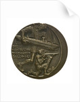 Medal commemorating the Gallipoli campaign; obverse by Karl Goetz