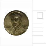 Medal commemorating Captain-Lieutenant Otto von Weddigen (1882-1915) submarine commander; obverse by A. L.