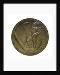 Medal commemorating Captain-Lieutenant Otto von Weddigen (1882-1915) submarine commander; reverse by A. L.