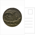 Medal commemorating the sinking of 'U41' by Q-ship 'Baralong', 1915; reverse by Karl Goetz