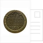 Medal commemorating Sir Edward Grey (1862-1933) and neutral shipping; reverse by Karl Goetz