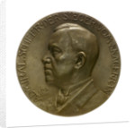 Medal commemorating Admiral Rheinhold von Scheer (1863-1928) and the Battle of Jutland, 1916; obverse by Hugo Kaufmann
