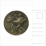 Medal commemorating Dutch trade restrictions during the First World War; reverse by Karl Goetz