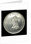 Medal commemorating the naval review at Spithead, 1889; obverse by unknown