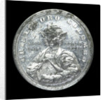 Medal commemorating Christopher Columbus (1451-1506) and the fourth centenary of the discovery of America, 1892; obverse by W. Mayer