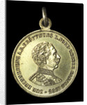 Medal commemorating the opening of the Kiel Canal, 1895; obverse by unknown