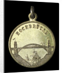 Medal commemorating the opening of the Kiel Canal, 1895; reverse by unknown