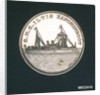 Medal commemorating the gunboat 'Iltis' and the bombardment of the Taku forts, 1900; obverse by O. Oertel