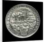 Medal commemorating Captain Karl von Müller (1873-1923) and the cruiser 'Emden' by H. Ziegler
