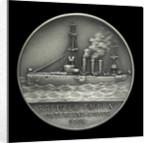 Medal commemorating Captain-Lieutenant Helmuth von Mücke (1881-1957) and the cruiser 'Emden' by M. & W.