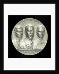 Medal commemorating Count von Spee Count Otto and Count Henry von Spee and the Battle of the Falkland Islands, 1914; obverse by F. Eue