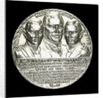 Medal commemorating Count von Spee Count Otto and Count Henry von Spee and the Battle of the Falkland Islands, 1914; obverse by Karl Goetz