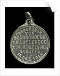 Medal commemorating the bombardment of Scarborough and Hartlepool, 1914; reverse by H. Ziegler