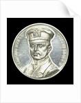 Commemorative medal depicting Captain-Lieutenant Otto von Weddigen (1882-1915) Commander of 'U9' and 'U29'; obverse by L.C. Lauer