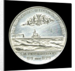Commemorative medal depicting Captain-Lieutenant Otto von Weddigen (1882-1915) Commander of 'U9' and 'U29'; reverse by L.C. Lauer