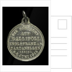 Medal commemorating the defence of the Dardenelles; reverse by H. Ziegler