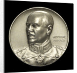 Medal commemorating Admiral Franz von Hipper (1863-1932) and the Battle of Jutland, 1916; obverse by F. Eue