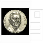 Medal commemorating Admiral Eduard von Capelle (1855-1931) and the Battle of Jutland, 1916; obverse by B.H. Mayer