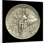 Medal commemorating Admiral Eduard von Capelle (1855-1931) and the Battle of Jutland, 1916; reverse by B.H. Mayer