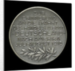 Medal commemorating Captain Paul König and the submarine 'Deutschland' by M. & W.