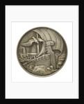 Medal commemorating Corvette Captain Nicolas Burgraf Count Dohna-Schlodien; reverse by D.M. Lauer