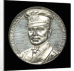 Medal commemorating Captain Lothar von Arnauld de la Perière and the submarine 'U35' by Lauer Bros.