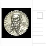 Medal commemorating Grossadmiral Alfred von Tirpitz (1849-1930); obverse by Karl Goetz