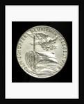 Medal commemorating Grossadmiral Alfred von Tirpitz (1849-1930); reverse by Karl Goetz