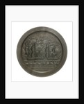 Medal commemorating Commodore Thomas Truxton (1755-1822 ) and the action between USS 'Constellation' and 'La Vengeance', 1800; reverse by unknown