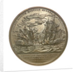 Medal commemorating Captain Stephen Decatur (1779-1820) and the action between USS 'United States' and HMS 'Macedonian', 1812; reverse by Moritz Furst