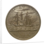 Medal commemorating the action between USS 'Enterprise' and HMS 'Boxer', 1813; reverse by Moritz Furst