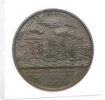 Medal commemorating Captain Thomas Macdonough (1783-1825) and the battle of Lake Champlain, 1814; reverse by Moritz Furst