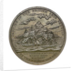 Medal commemorating Captain James Biddle and the action between USS 'Hornet' and HMS 'Penguin', 1815; reverse by Moritz Furst