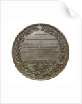 Medal commemorating Commander Nathaniel Ingraham (1802-1891) and the Smyrna incident, 1853; reverse by S. Eastman