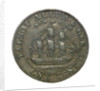 New York cent token; obverse by unknown