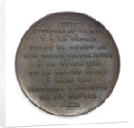 Medal commemorating Admiral William Brown (1777-1857); reverse by unknown