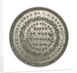 Medal commemorating the SS 'Great Eastern'; reverse by J.H. Merriam