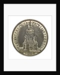 Medal depicting the naval monument at Valparaiso; obverse by unknown