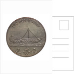 Token commemorating HMS 'Jersey'; obverse by unknown