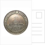 Medal commemorating the national subscription for the torpedo boat 'Rosales'; obverse by unknown